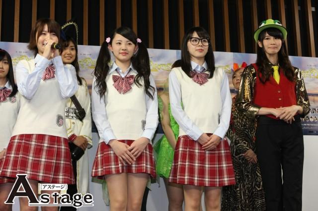 左から 犬山奈々、熊本舞子、鏡橋純、高岡ミカ