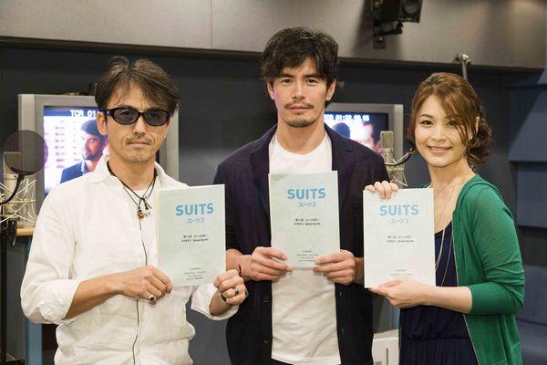 左から:桐本琢也、伊藤英明、甲斐田裕子