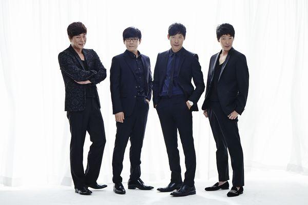 左からキム・ボムレ、ミン・ヨンギ、ユ・ジュンサン、オム・ギジュン