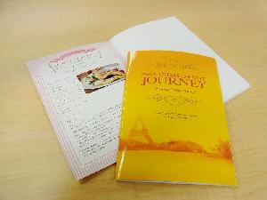 レシピ付きノート