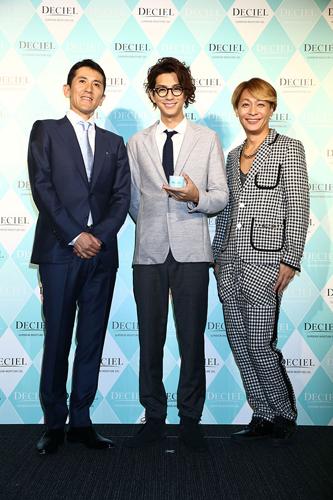 (左より) 長洲謙一 ※(株)AILE代表取締役 三浦翔平(26) 小椋ケンイチ(46)