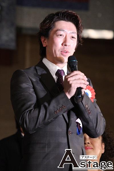 鎌田誠樹 2009年からアンサンブルで参加。2013年にアンサンブルからジャベールに。今回は「最高のジャベールとクールフェラックを演じられるように」