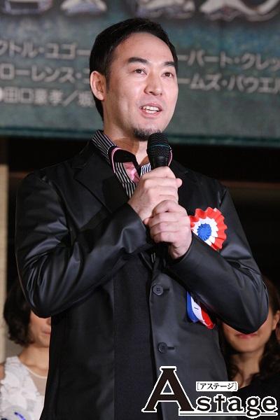 福井晶一 前回は『レ・ミゼラブル』初参加でジャン・バルジャンとジャベールの2役を経験。今回はジャン・バルジャンに。
