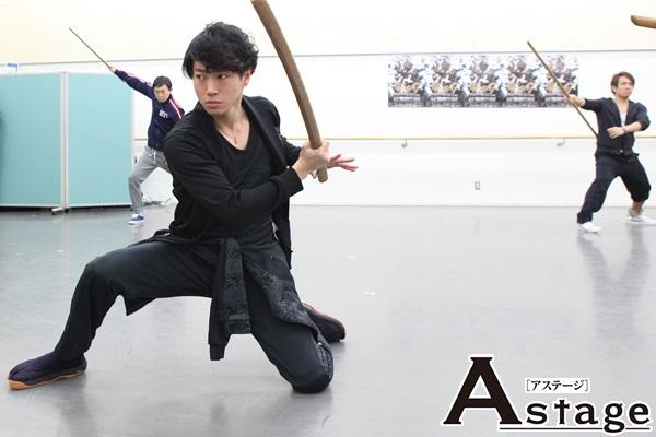 矢崎広「侍になりたい青年、カツシロウ役。もがき苦しみ成長するカツシロウと共に、もがき闘っている最中です」