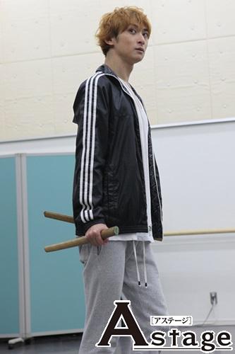 古川雄大は「二刀流で7人で最強と言われるキュウゾウ役」 その剣をふるう速度は『神速』と言われるが「神に近づけるか、挑戦したい」
