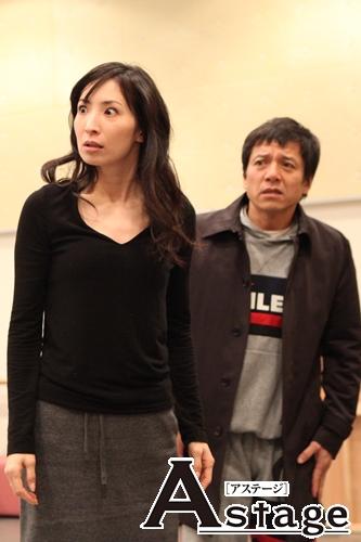 榊愛子(真飛聖)と榊誠治(勝村政信)夫妻。