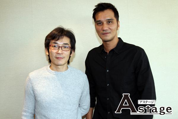 左:ウェイ・ダーション(魏徳聖)プロデューサー、右:マー・ジーシアン(馬志翔)監督