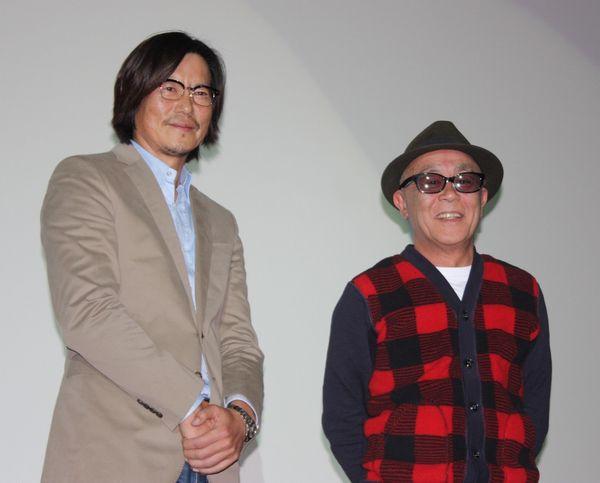 左から、豊川悦司、廣木隆一監督