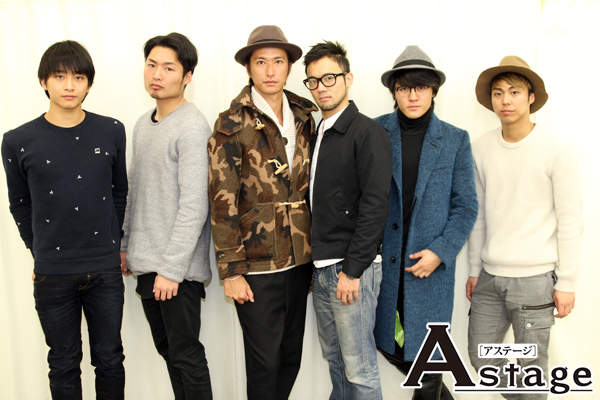 左から 佐藤寛太、八木将康、秋山真太郎、小澤雄太、春川恭亮、小野塚勇人