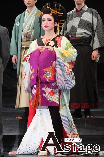 日本の伝統的な題材とブロードウェイの演出家の組み合わせに 心配もしたソニン。だが「いい意味で裏切られた」
