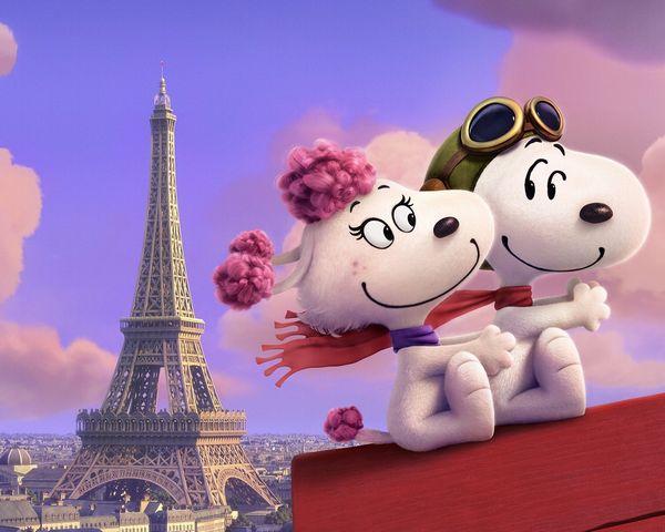 【WEB解禁:6月4日(木)正午】『I LOVE スヌーピー THE PEANUTS MOVIE』フィフィ画像