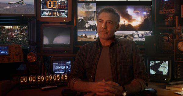 Disney's TOMORROWLAND Frank (George Clooney) Ph: Film Frame ©Disney 2015