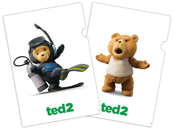 『テッド2』クリアファイルセット画像