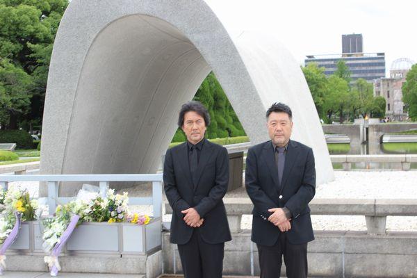 広島・平和記念公園献花_メイン