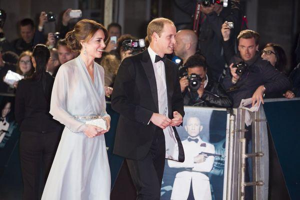「007 スペクター」ロイヤルプレミア3_キャサリン妃_ウィリアム王子