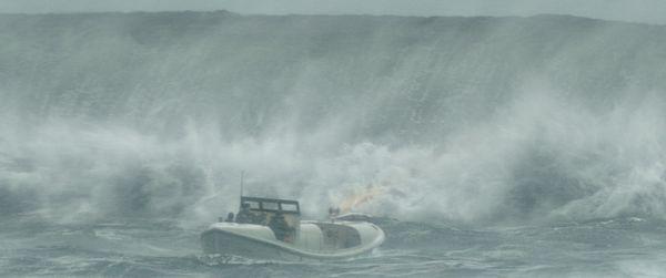 サブ⑤(木製の小型救助艇)