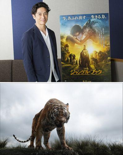 ★『ジャングル・ブック』伊勢谷さん_ディズニー映画初挑戦