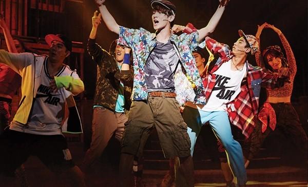 イン・ザ・ハイツ2015年韓国公演舞台写真