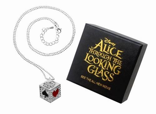 ネックレスfront・box/『アリス・イン・ワンダーランド/時間の旅』