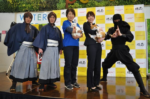 「猫忍」猫の日イベントオフィシャル写真1