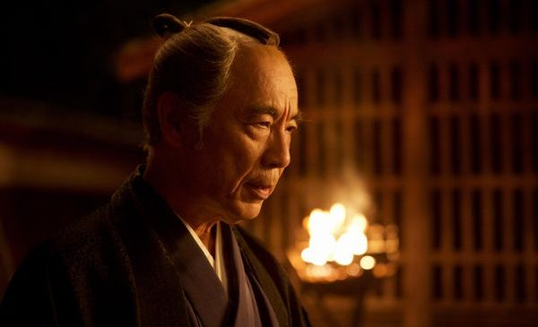 Issey Ogata as Inoue in the film SILENCE by Paramount Pictures, SharpSword Films, and AI Films