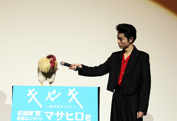 smallキセキ大阪舞台挨拶5(菅田将暉)
