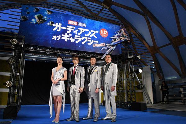 【0410開催】『GOG:R』ギャラクシー・カーペット・イベント サブ2写真