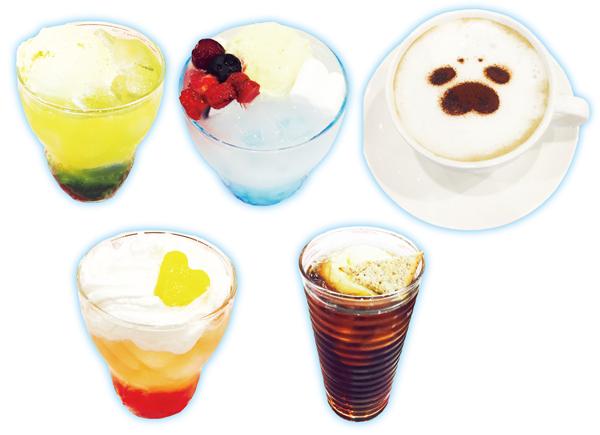 【恋するシロクマ】ドリンク画像(全種)01