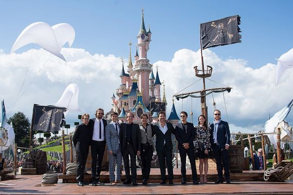"<> attends the European Premiere to celebrate the release of Disney's ""Pirates of the Caribbean: Salazar's Revenge"" at Disneyland Paris on May 14, 2017 in Paris, France."