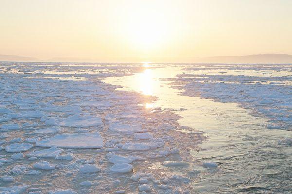 「風の色」写真流氷