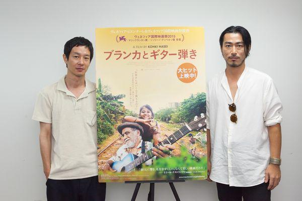 【8月9日(水)実施】『ブランカとギター弾き』加瀬亮登壇イベントオフィシャル写真1