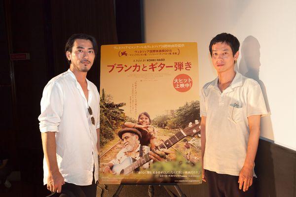 【8月9日(水)実施】『ブランカとギター弾き』加瀬亮登壇イベントオフィシャル写真2