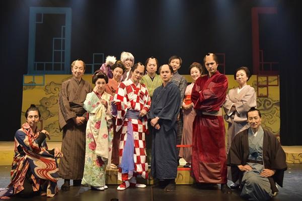 ミュージカル「しゃばけ」弐 ~空のビードロ・畳紙~ 公式フォトセッション画像