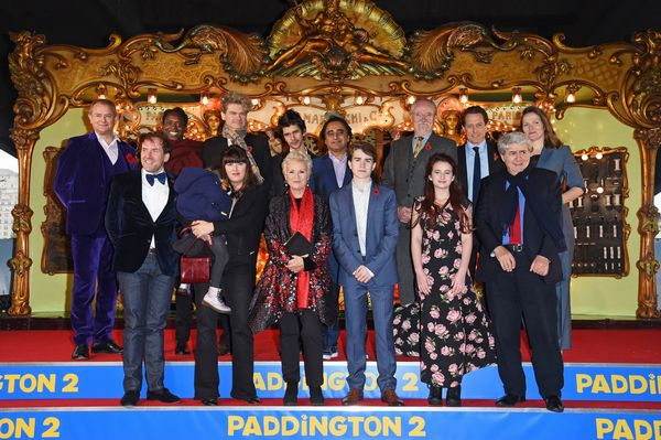 "attends the World Premiere of ""Paddington 2"" at the BFI Southbank on November 5, 2017 in London, England."