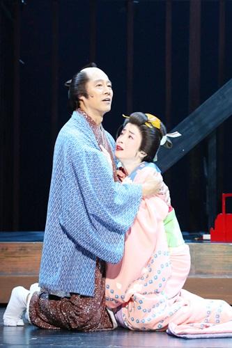 【近松】舞台写真/堤真一_宮沢りえ