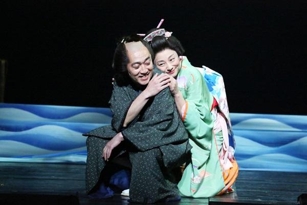 【近松】舞台写真/池田成志_小池栄子_