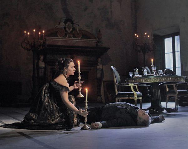 トスカ11?Ken Howard/Metropolitan Opera