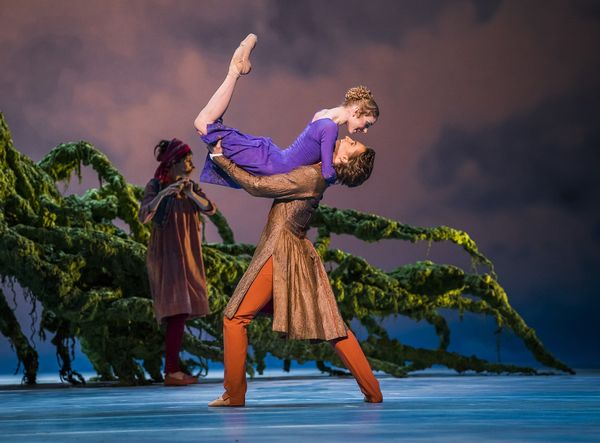 A scene from The Winter's Tale by The Royal Ballet @ Royal Opera House. Choreography by Christopher Wheeldon. (Opening 13-02-18) ©2018 ROH. Photographed by Tristram Kenton. (3 Raveley Street, LONDON NW5 2HX TEL 0207 267 5550 Mob 07973 617 355)email: tristram@tristramkenton.com