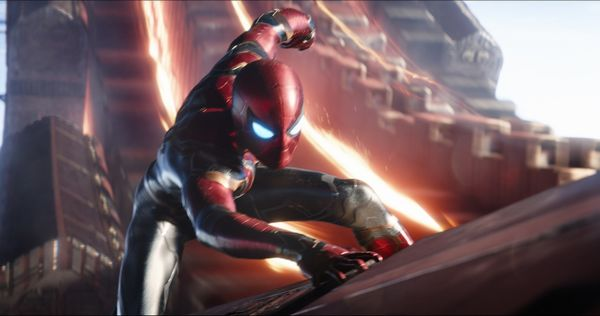 Marvel Studios' AVENGERS: INFINITY WAR Spider-Man/Peter Parker (Tom Holland) Photo: Film Frame ©Marvel Studios 2018