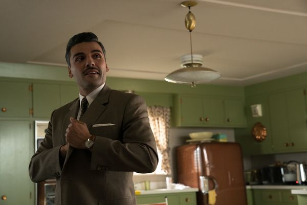 Oscar Isaac as Bud Cooper in SUBURBICON, from Paramount Pictures and Black Bear Pictures.