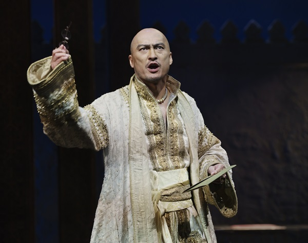 The King and I Ken Watanabe Act II Bartlett Sher: Director Credit Photo: Paul Kolnik studio@paulkolnik.com nyc 212-362-7778