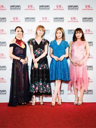 ●Dream Shizukaさん、 Dream Amiさん、鷲尾伶菜さん、山口乃々華さん