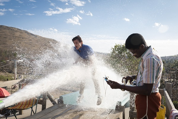(L-R) Johnny Knoxville and Eric Manaka in the film, ACTION POINT by Paramount Pictures