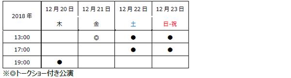 大阪スケジュール
