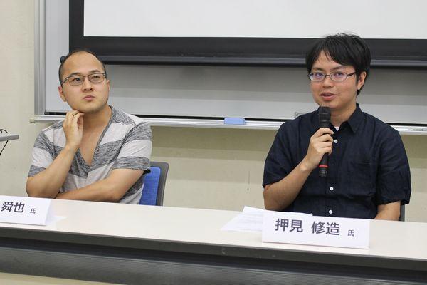 左:山田氏/右:押見氏