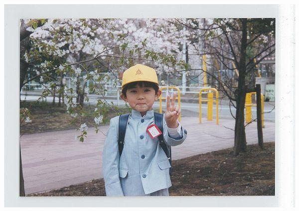 吉沢さん幼少期のお写真