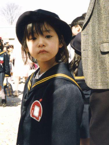 新木さん幼少期のお写真