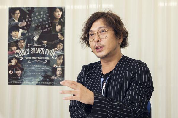西田大輔監督インタビュー写真