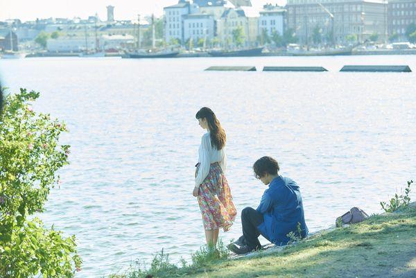 フィンランド_海辺デート