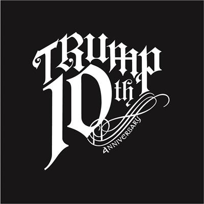 「TRUMP」10thlogo